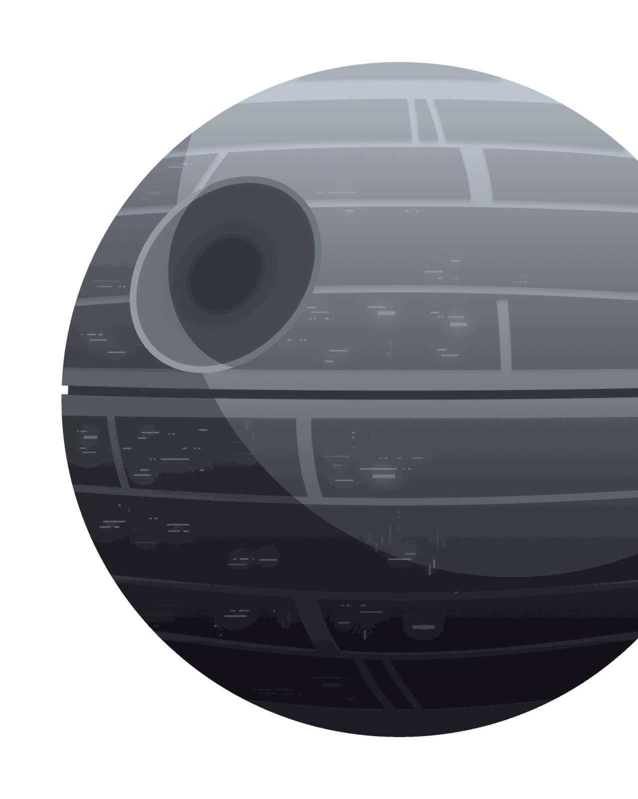 Deathstar R2D2 Swift Case Study Finger Food