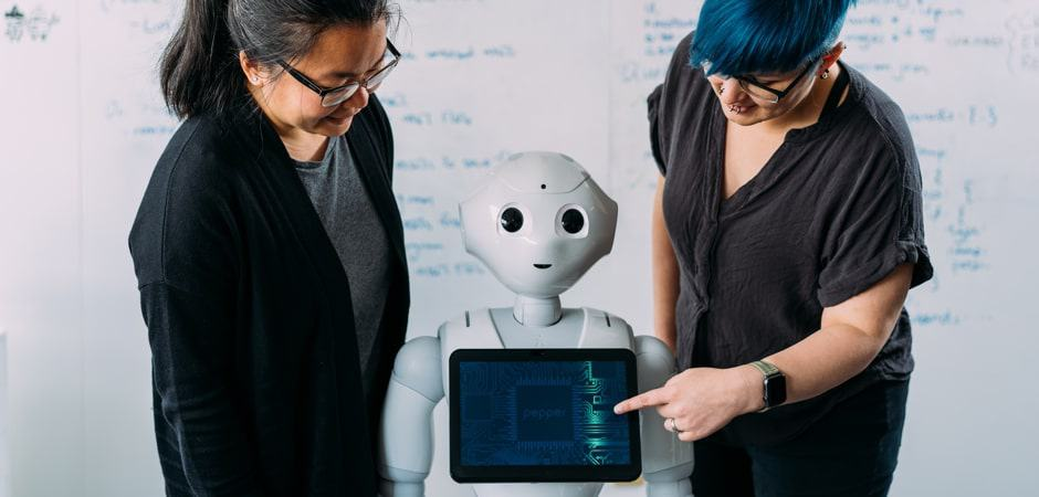 Designer and Developer with Pepper