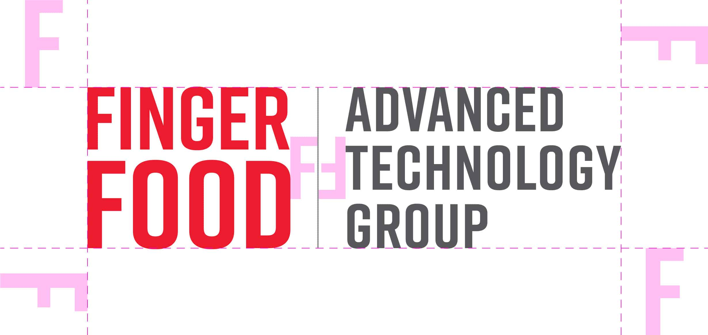 Finger Food ATG Logo Alignment Guide