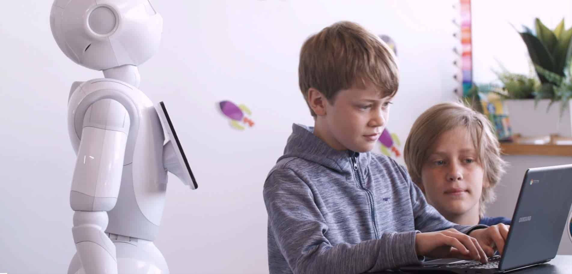 SoftBank Robotics Tethys – The Future of Education